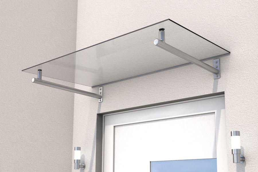 haust rvordach t rdach vordach edelstahl gutta hd 140 vs glas zubeh r ebay. Black Bedroom Furniture Sets. Home Design Ideas
