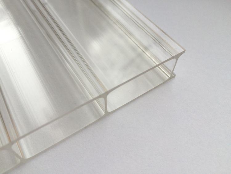 stegplatten 16 mm acrylglas glatt klar 980 mm breite stegplatte ebay. Black Bedroom Furniture Sets. Home Design Ideas