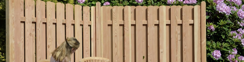 Kaufen Sie Ihren Sichtschutzzaun aus Holz bei Ihrem Fachmann Longhouse.de