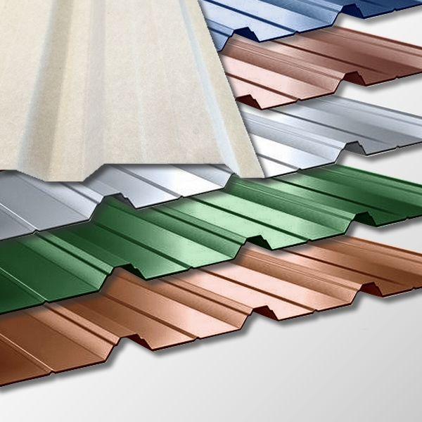 trapezblech t 40 1064 0 50mm in vielen farben mit vlies. Black Bedroom Furniture Sets. Home Design Ideas