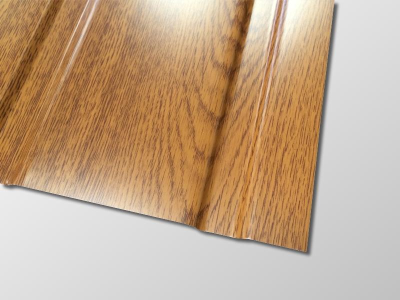 Trapezblech T-7W/1176 - 0,50 mm Materialstärke - 25 µm Polyesterbeschichtung - Detailbild 1