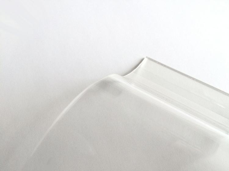 Lichtplatte Acryl 177/51 - HIGHLUX - klar - 3 mm - glatt 1