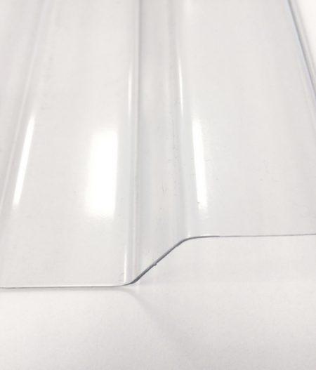 Lichtplatte PVC 70/18 Spundwand klar