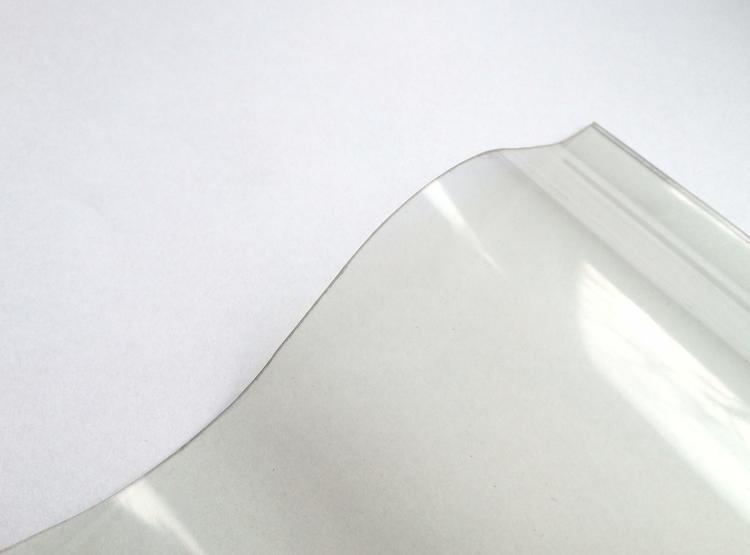 Lichtplatte PVC Ondex Sollux 130/30 Sinus klar 1,2 mm