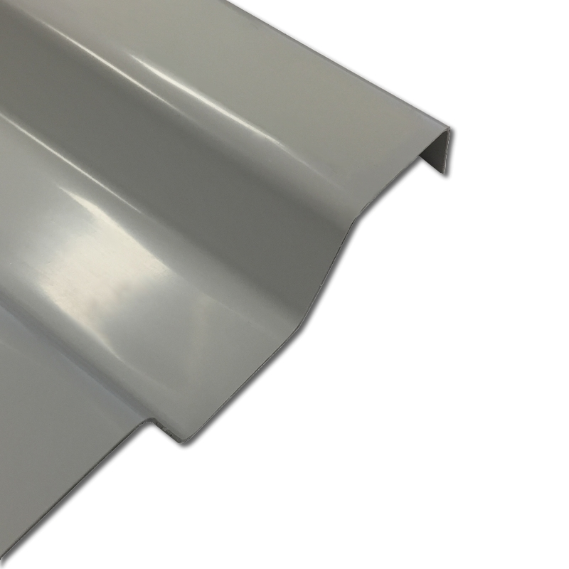 Lichtplatte PVC Ondex Sollux 70/18 Trapez grau