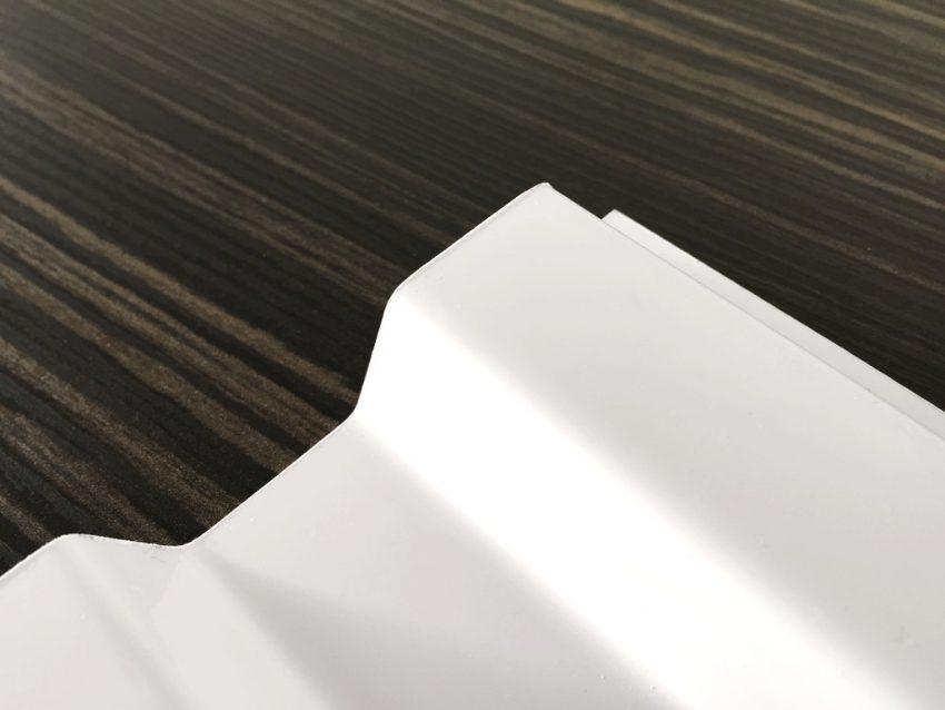 Lichtplatte PVC Ondex Sollux 70/18 Trapez weiß