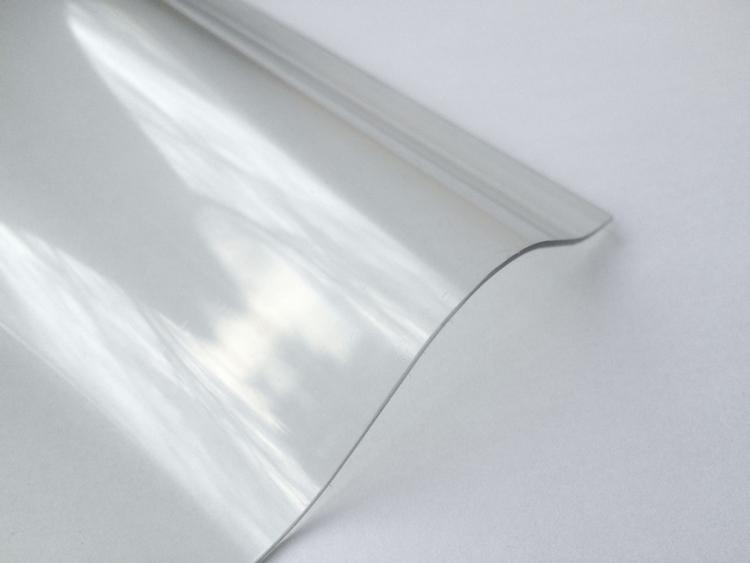Lichtplatte PVC Ondex Sollux 76/18 Sinus klar
