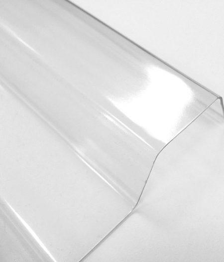 Lichtplatten PVC 70/18 Spundwand - glasklar - Kategoriebild