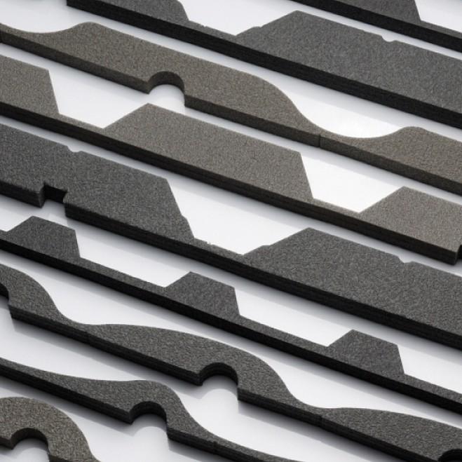 Profilfüller für Trapezblech und Pfannenblech