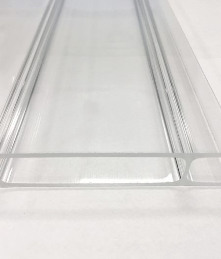 Stegdoppelplatte Acryl 16/64 anti-drop klar