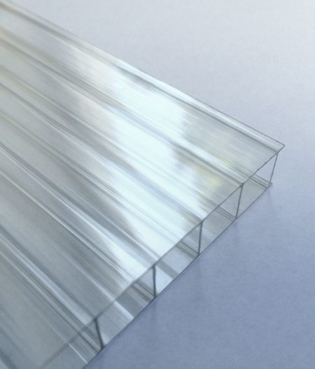 Stegdoppelplatte Polycarbonat 6 mm longlife klar