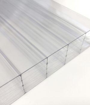 Stegdoppelplatte Polycarbonat Thermo 25 mm klar