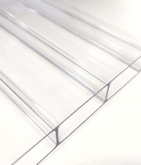 Stegdoppelplatte Polycarbonat basis 16 mm longlife klar