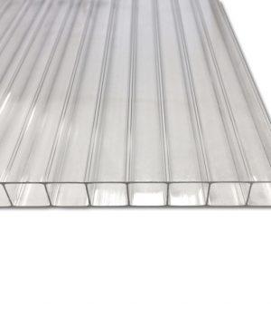 Stegdoppelplatte Polycarbonat longlife 10 mm klar