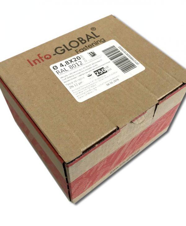 Systemschrauben Schrauben für Profilbleche - Karton