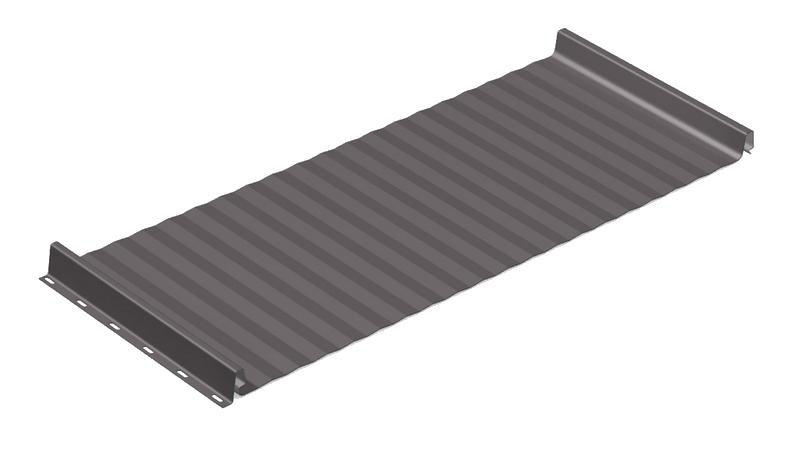Stehfalz - Stehfalzblech - PD510 - Microwelle