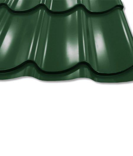 Pfannenblech Szafir® 350/15 - RAL6020 Chromoxidgrün